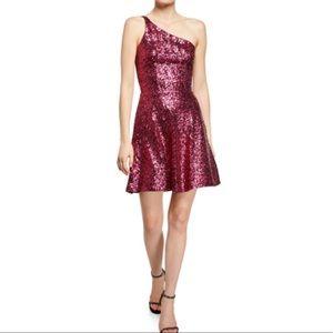 Dress The Population One-Shoulder Sequin Dress 190